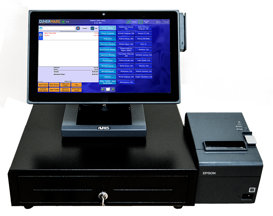 Evergreen Pos Dinerware Intuitive Restaurant Software