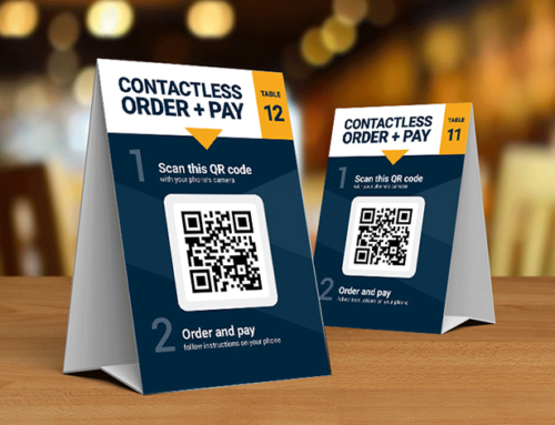 Scan, Order & Pay at Table